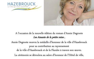 Médaille d'honneur de la ville d'Hazebrouck
